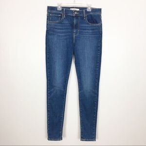 Levi's 720 High Rise Super Skinny Jeans Size 30
